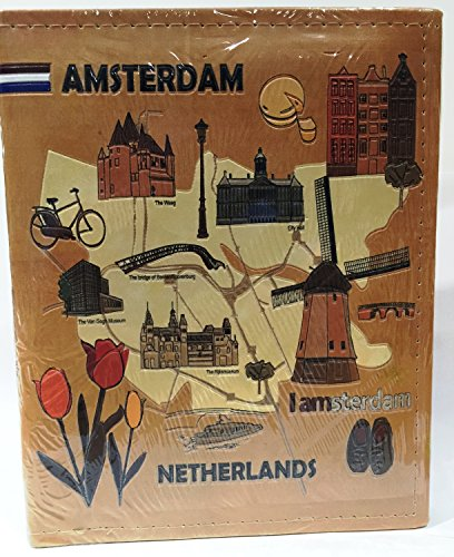 Amsterdam Netherlands Embossed Photo Album 200 Photos / 4x6 - 1