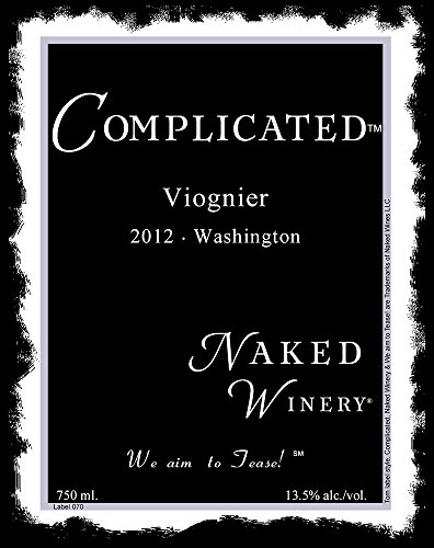 2012 Naked Winery Complicated Viognier 750 Ml