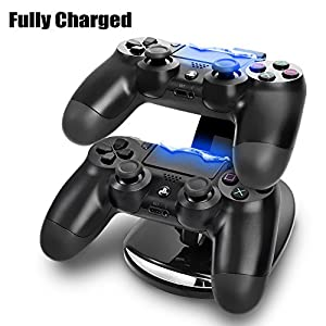 Century Accessory Dual USB Charging Charger Docking Station Stand for Playstation 4 PS4 Controller