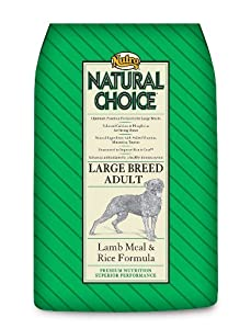Natural Choice Dog Large Breed Lamb Meal and Rice Formula Adult Dog Food, 30-Pound