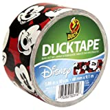 Duck Brand 281967 Disney-Licensed Mickey Mouse Printed Duct Tape, 1.88 Inches by 10 Yards, Single Roll
