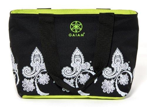 Gaiam Teatime Tote - Black Paisley (30885) - 1