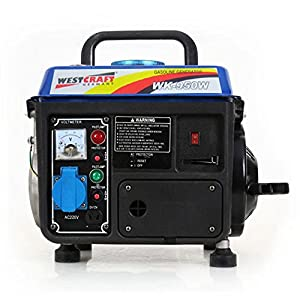 WESTCRAFT 2-Takt Stromerzeuger (800 Watt)