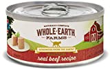 Whole Earth Farms Grain Free Real Beef Recipe (Paté)