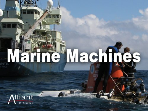 Marine Machines Season 1