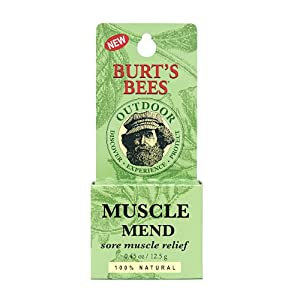 Burt's Bees Muscle Mend, .45-Ounce Jars (Pack of 3)