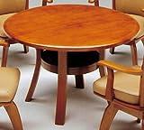 ダイニングテーブル 円形 110 丸型 coupe ライトブラウン