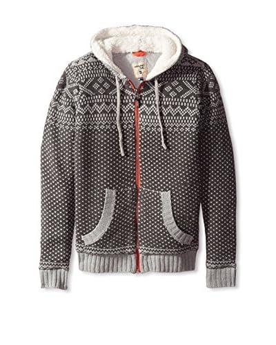 Triple Five Soul Men's Zip-Up Sweater