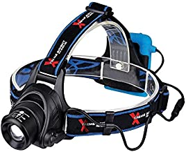 Camping, Biking, Power Sports Headlamp/Tactical Flashlight Tool - Provides Brilliant, Long-Lasting, Powerful Illumination In Low-Light Conditions. Features 350 Lumen LED Light (With 3 Settings) - Illuminates Up To 500 Ft For Optimal Night-Time Safety