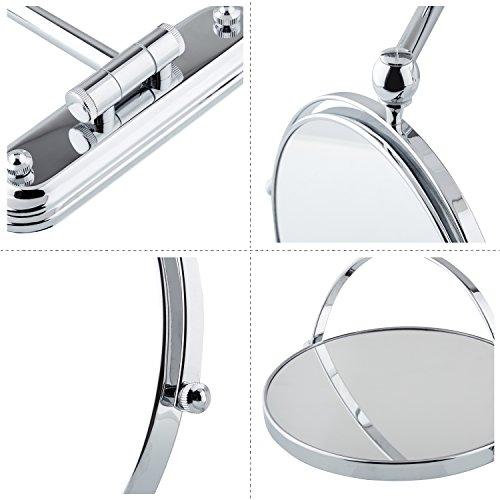 Spaire espejo de ba o aumento espejo de pared plegable 8 - Espejo aumento bano ...