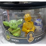 Disney Star Wars, Chewbacca, Clone Trooper, Boba Fett, Darth Vader, Yoda, C-3p, R2-d2 Bath Squeek Toys
