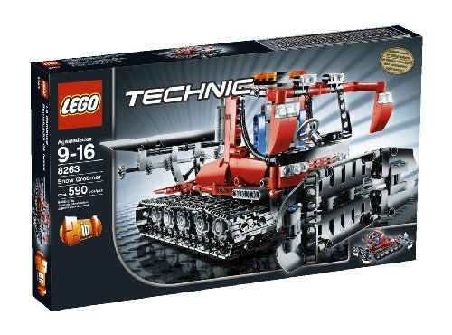 Lego Technic Snow Groomer 8263 Lego Power Functions Instructions