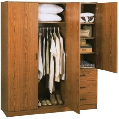 Buy cheap systembuild collection 3 door wardrobe cabinet for Cost of new cabinet doors and drawers