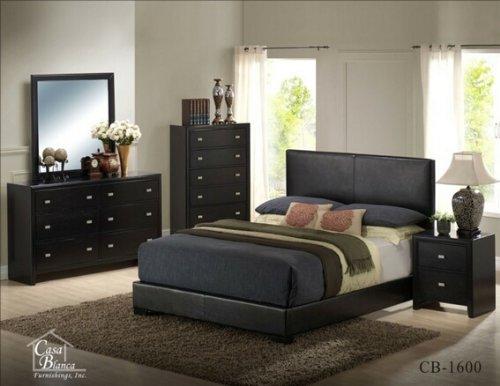 Black Queen Bedroom Set 2004 front