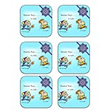 MeSleep Rakhi Wooden Coaster-Set Of 6 - B013LEPXWQ