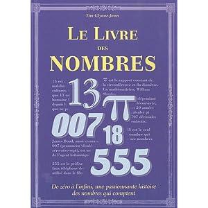 Le livre des nombres livraison math matique - Livraison de livre ...