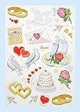 Creapop Sticker * Hochzeit I * Aufkleber 3451333