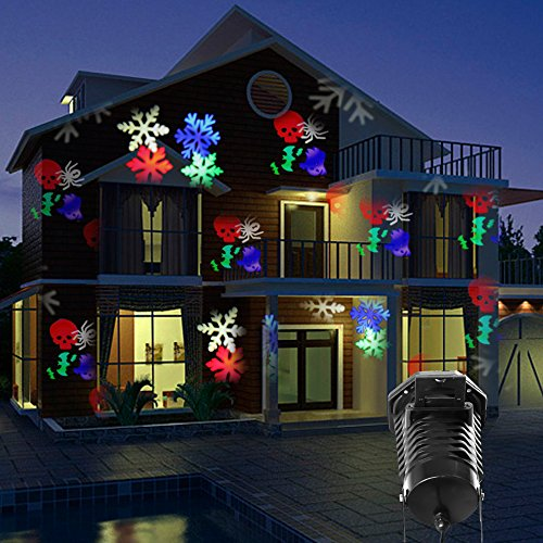 blue projector lightshow icy watch kaleidoscope lighting christmas led projection lights