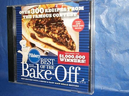 Pillsbury Best of the Bake-Off CD/ROM Recipes