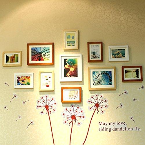 Xkdhc holz wand design kreative foto wand schlafzimmer for Beistelltisch 1m hoch