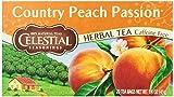 Celestial Seasonings Herb Tea, Country Peach Passion, 20-Count Tea Bags - Pack of 6