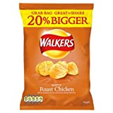 Walkers Roast Chicken Flavour Crisps 32x60g
