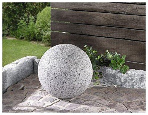 Deko kugel granit for Granit deko garten