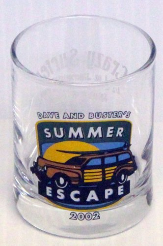 dave-and-busters-summer-escape-2002-crazy-surfer-promotional-2oz-shot-glass