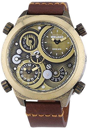 [ウェルダー]Welder 腕時計 Analog Display Quartz Brown Watch 400 ユニセックス [並行輸入品]