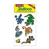 Reptilien (Krokodil, Schlange, Skorpion, Frosch, Salamander) Tattoos von Lutz Mauder // Kinder Kindertattoo Tatoo Tatto Kindergeburtstag Geburtstag Mitgebsel Geschenk