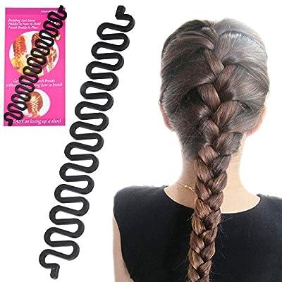 Gotobuy Women Fashion Hair Styling Clip Stick Maker Braid Tool Hair Accessories