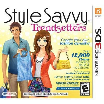 Style Savvy Trendsetters - Nintendo 3DS