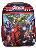 "Marvel Avengers 15"" Backpack - Captain America, Iron Man, Thor, Hulk"