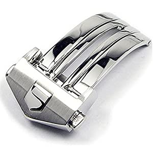18 mm Swiss Stainless Deployment Buckle for Tag Heuer Buckle Strap Band Clasp