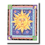 Celestial Sun Galaxy Kids Room Wall Picture 16x20 Art Print