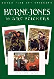 img - for Burne-Jones: 16 Art Stickers (Dover Art Stickers) by Burne-Jones, Sir Edward Coley (2001) Paperback book / textbook / text book