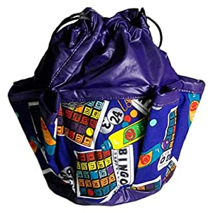 Complete Bingo 10-pocket Dauber Bag Vinyl Purple