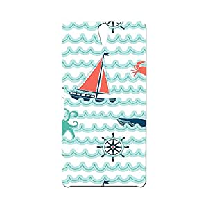 BLUEDIO Designer Printed Back case cover for Sony Xperia C5 - G7234