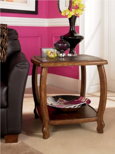 Cheap DePere Square End Table by Ashley Furniture (B001309TF8)