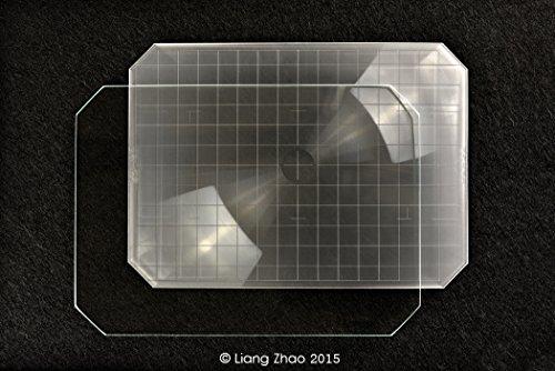 Yanke I 57-01 Intenscreen (Type B) Dépoli de mise au point universel pour appareil photo 5 x 7; 178.0 x 128.0 x 1 mm