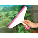 Handy Cleaning Hand-Held Wiper With Non-Slip Handle - For Cleaning Window Glass, Tiles, Kitchen Table Platform...