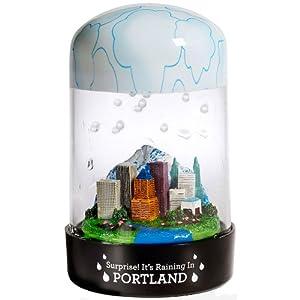 Amazon Com Portland Rainglobe The Globe That Rains