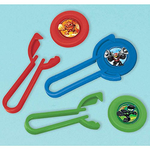Skylanders Disc Shooter Favors (12 Pack) - Party Supplies