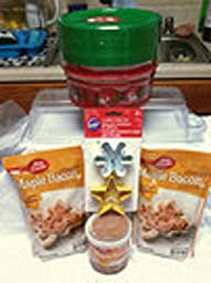 Bundle 5 Pieces Maple Bacon Cookie Mix Storage Containers Medley