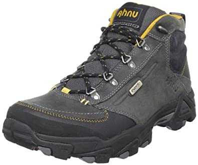 Ahnu Men's Elkridge Mid Hiking Boot,Gunmetal,8.5 M US