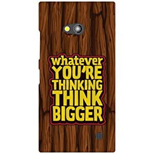 Nokia Lumia 730 Printed Mobile Back Cover