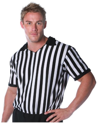 Underwraps Carnival Corp. - Referee Shirt Adult Costume