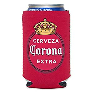 Amazon.com: Corona Vintage Logo Cooler Can Koozie: Kitchen & Dining