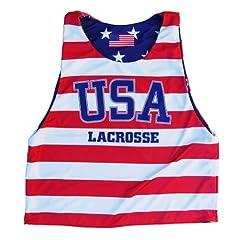 USA Lacrosse Stars & Stripes Sublimated Pinnie