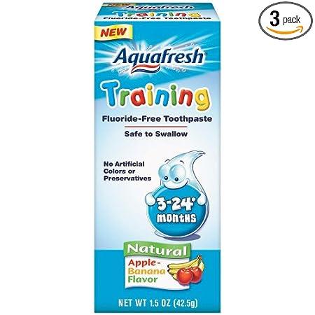海淘宝宝牙膏:Aquafresh 婴幼儿苹果香蕉味牙膏